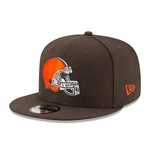 New Era Cleveland Browns Hat NFL Brown 9FIFTY Snapback Adjustable Cap Adult One Size