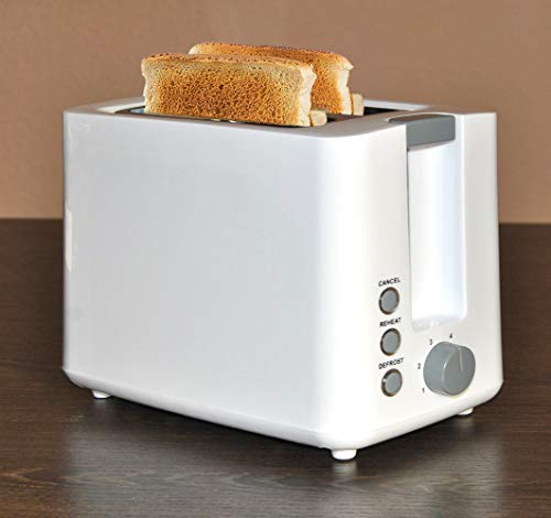 tostapane 850w 2 fette Tostapane con due camere per tostare