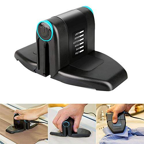 POWSTRO K Folding Mini Collar Iron Portable Electric Handheld Multifunctional Iron for Travel Business Trip