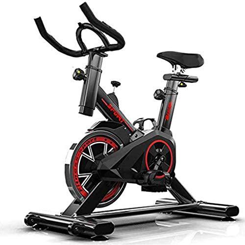 Fitness Cyclette,Volano 22 kg. Freno a Frizione. Micro Regolazione di sellino e Manubrio,Fstruttore di Fitness, Attrezzo Sportivo, Allenamento Corpo, Cardio Trainer