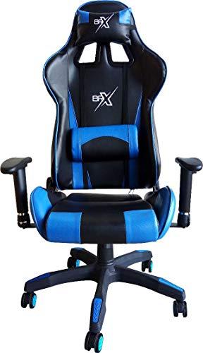 Cadeira Gamer BRX com Encosto Reclinável - BR-X-YELLOW
