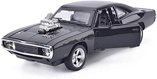 Llpeng Modelo de Juguete Modelo Retro de Dodge Coche 1:32 simulación de aleación de fundición a presión de joyería Juguete Adornos Colección Coche de Deportes de 15.2x6.6x3.8CM