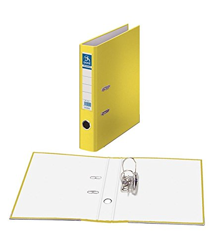 Dohe Archicolor - Archivador folio lomo estrecho, color amarillo
