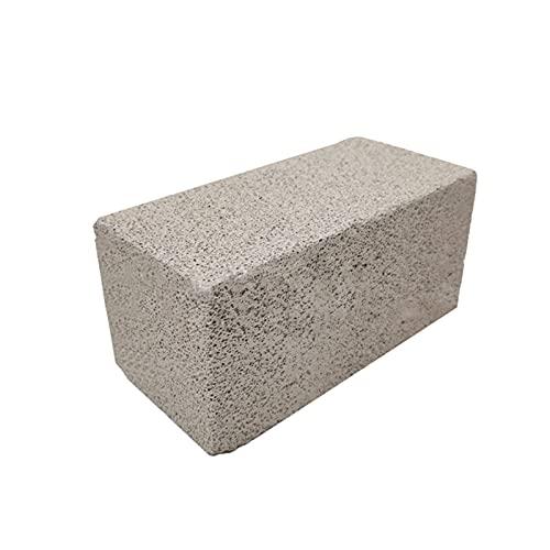 Amusingtao Piedra Pómez para Piscina Extra Grande Piscina Y SPA Piedra Pómez para Piscina Placa Limpieza Bloque, Natural Quitamanchas - Gris, Free Size