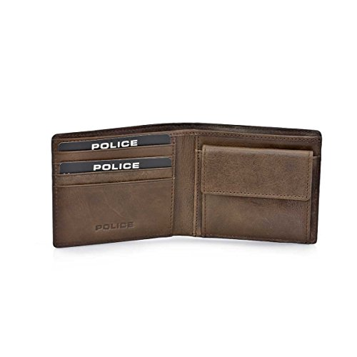 Police 6289-894, Herren Herren-Geldbörse Braun braun talla unica