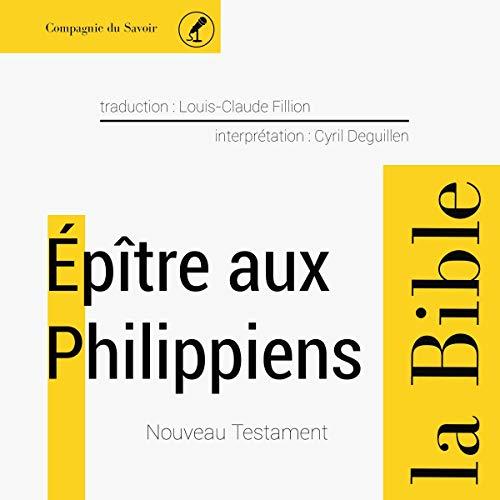 Épître aux Philippiens cover art