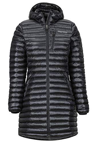 Marmot Wm's L Avant Featherless Hoody Veste Isolée, Manteau d'extérieur Chaud, Anorak déperlant, Coupe-Vent Femme Black FR: M (Taille Fabricant: M)