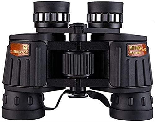 DZCGTP Binoculares monoculares DM-4 10x50 Telescopio Binocular de Ajuste Fino, Alta definición, Alta Potencia y Poca luz HD BAK4 Pesca Impermeable