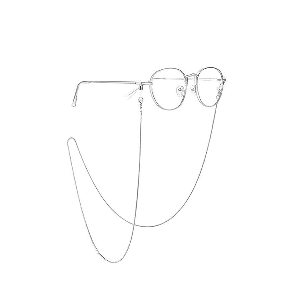 腹部いじめっ子メタン[f0vers] 眼鏡ストラップ メガネチェーン 眼鏡ストラップ メガネ小物 シンプルでおしゃれ 男女兼用 79cm