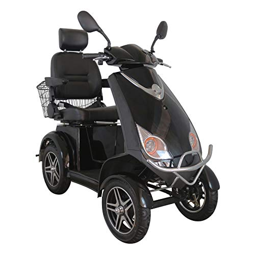 4 Wheeled Green Power Mobility Scooter