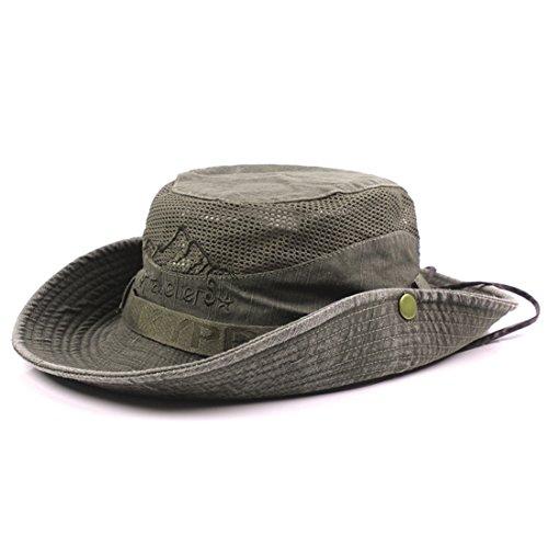 Large vert arm/ée Boonie Hat 59cm Olive Miltec