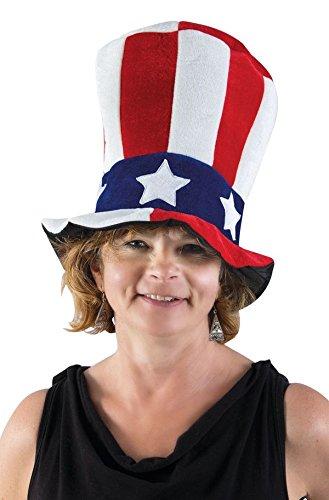 P 'tit clown 71520 hoed fluweel HDF Amerikaanse volwassenen - meerkleurig