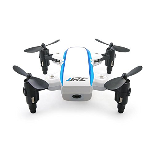 Recommendation Memela(TM)JJRC H345 Dual-Aircraft Combination AR Game Micro Foldable 2.4GHZ Drone Quadcopter Set with 4 Backup Propeller