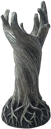ZMHCXW Ornamento del Vaso della Driade,Albero Creativo Arredamento Secco Decorazione Floreale,Vaso Art DéCo per Soggiorno Scrivania Ufficio Arredamento per La Famiglia (Color : White)
