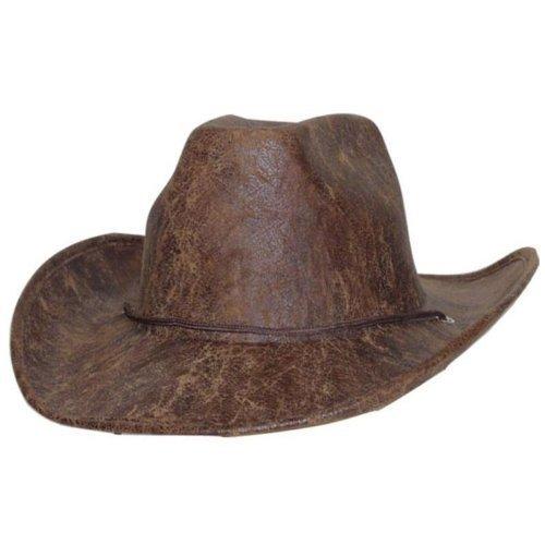 Chapeau cowboy simili cuir