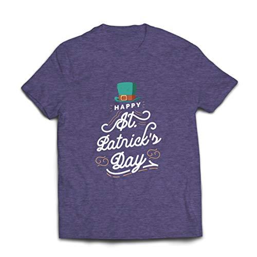 lepni.me Camisetas Hombre Feliz día de San Patricio Duende irlandés Divertido Lleva