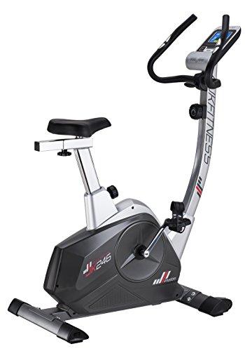JK Fitness JK246, Cyclette magnetica, unisex, per adulti, colore grigio, taglia unica