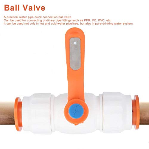 25mm PPR Quick Ball Valve Pipe Quick Connect Valve Waterleidingfitting Accessoires Badkamerbenodigdheden