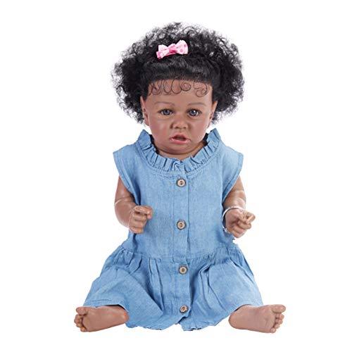 Bebé Reborn, 58Cm Bebé Simulación Saskia Renacer Muñeca, Silicona Muñeca Femenina, Regalo para Los Niños