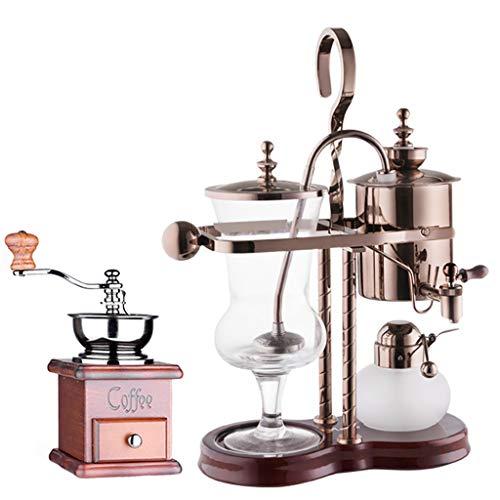 Vakuum-Kaffeebereiter Siphon Kaffeemaschine Set Coffee Siphon Technia Haushalt Belgischer Topf Royal Kaffeekanne, 4 Ausführungen (Farbe : B1)