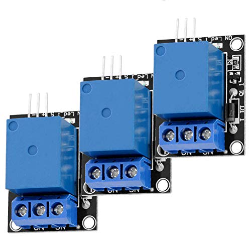 AZDelivery 3 x 1-Relais 5V KY-019 Modul High-Level-Trigger kompatibel mit Arduino inklusive E-Book!