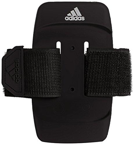 adidas Run Media Armpo - Brazalete Unisex, Color Negro/Gris, Talla M