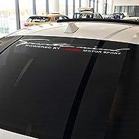JIERS 三菱ランサー103 9、モータースポーツカーフロントリアウインドシールドデカールステッカーオートデコレーションカーステッカー