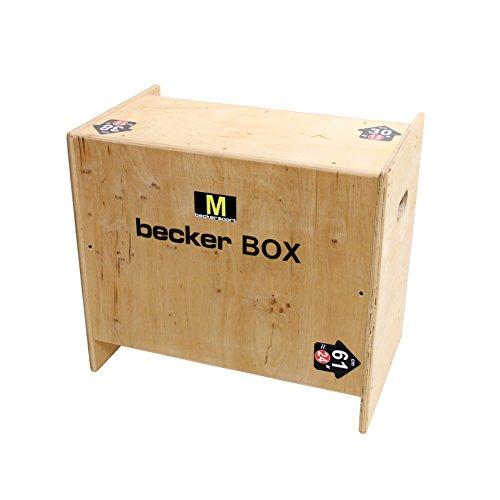 Becker-Sport Germany Becker Box M Weltneuheit, 5 in 1 Box, (BSG 28963) einzigartige Plyo Box mit 5 Sprunghöhen