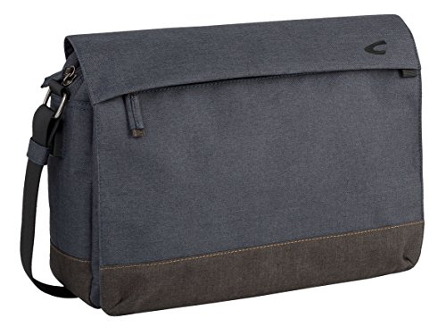 camel active Messenger Hong Kong Aktentasche, 42 cm, Blau