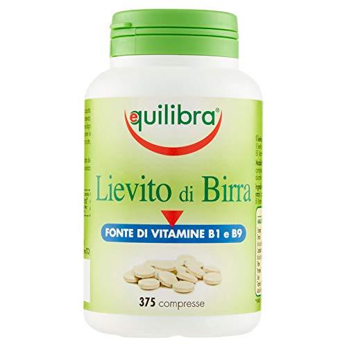 Equilibra - Lievito di Birra, 375 Compresse - [pacco da 2]