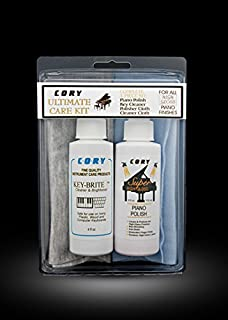 Piano Cleaning and Polishing Kit: Cory Ultimate High Polish Piano Care Kit - For High Gloss Pianos