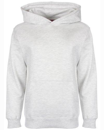 FDM - Sweat-Shirt à Capuche - Fille Gris Gris 9 Ans