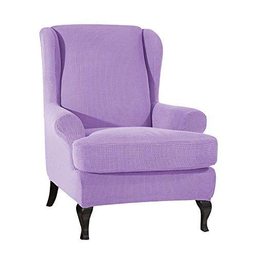 PETCUTE Fundas de sillón con Orejas Fundas de Silla elástica con Cojin Separado Protector de Muebles Jacquard