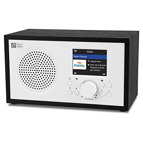 Ocean Digital Radio Internet WiFi WR100F Radio...