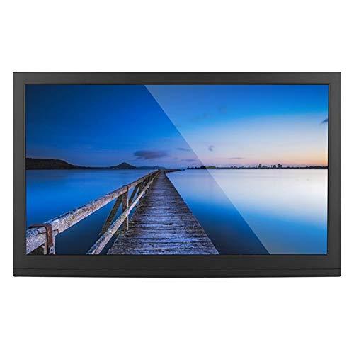 Archuu Monitor de 15.6 Pulgadas, Monitor HDMI 1920x1080 IPS Pantalla de Vista Completa Monitor de Juegos Portátil Pantalla de Computadora para RaspberryPi PS3/4 Xbox360(Versión HDR de la UE)
