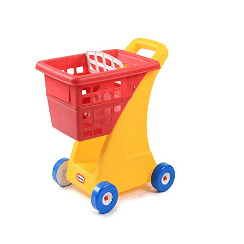 Little Tikes Supermarket Shopping Cart with Fold Down Seat
