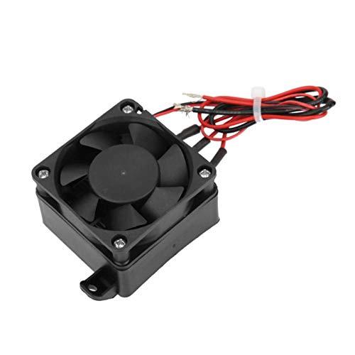 Calentador de elemento calefactor, elemento de aislamiento de temperatura Calentador PTC con ventilador 110 V con ventilador para acondicionadores de aire para(12W fan 250W)