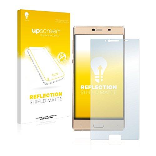 upscreen Entspiegelungs-Schutzfolie kompatibel mit Elephone M2 – Anti-Reflex Bildschirmschutz-Folie Matt