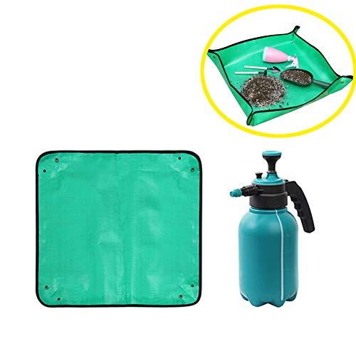 Anti-Dirty Gardening Transplanting Flowerpot Arbeitsmatte, wasserdicht und feuchtigkeitsbeständig, dick und auslaufsicher, korrosionsbeständig und leicht zu reinigen, geeignet für den Heimgebrauch
