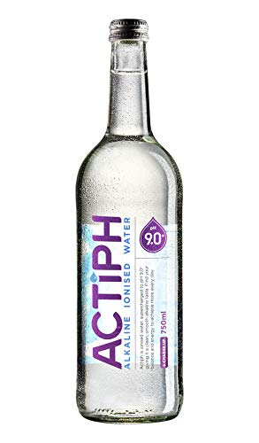 Alkaline Ionised Spring Water pH9+ (12x 750ml) Purified with Electrolytes...