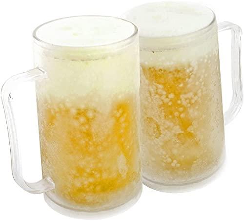 Jarra de cerveza para congelar: vaso de...