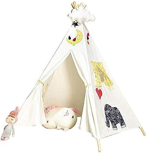 QHWJ Spiel Zelt, Kinderzelt Theater Haus Zelt Indoor Outdoor Spielzeug Haus Leseecke Spiel Aktivit Zentrum Stückerei indisches Zelt