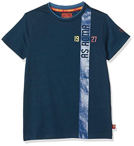 AS Roma T-Shirt Girocollo Bambino Mood Indigo, 10