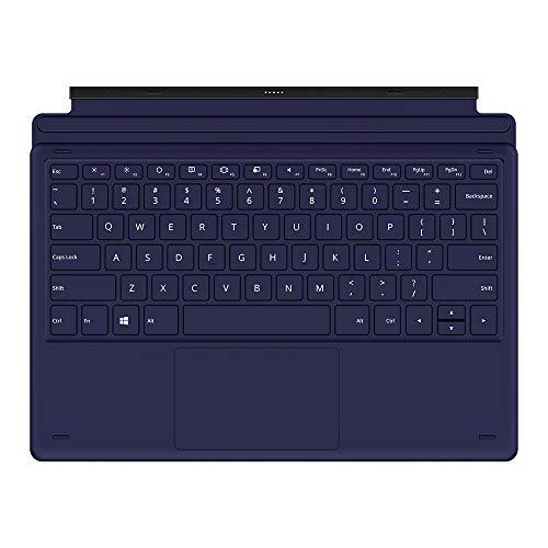 TECLAST Tastiera QWERTY Layout con Rimovibile Wireless Keyboard Tastiera Tablet PC X6PLUS Nero