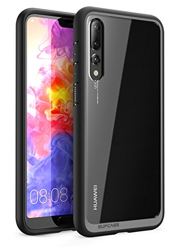SUPCASE Cover Huawei P20 PRO Custodia Premium per Cellulare Custodia Ibrida Backcover Trasparente [Unicorn Beetle Style] per Huawei P20 PRO 2018 (Nero)
