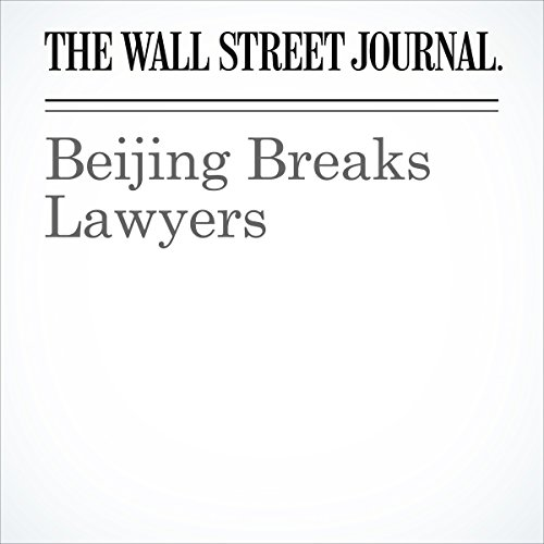 Beijing Breaks Lawyers copertina