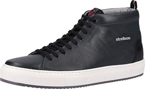 Strellson Herren Evans Sneaker mfu Klassische Stiefel, Grün (DarkGreen 602), 42 EU