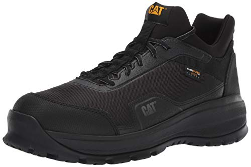 Caterpillar Men's Engage Alloy Toe Work Shoe Construction, Black, 10 Wide