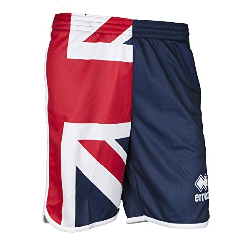 Errea Republic Pantaloncini Shorts Sport Uomo Ragazzo Essential SS19 Man Bermuda Flag (Medium, UK)