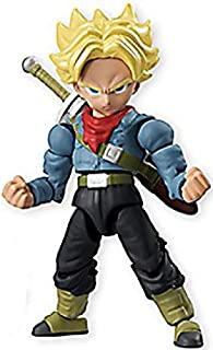 Dragon Ball Super 66 Action Dash Super Saiyan Trunks Character Mini Action Toy Figure approx. 66mm / 2.6